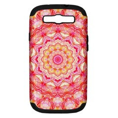Yellow Pink Romance Samsung Galaxy S Iii Hardshell Case (pc+silicone) by Zandiepants