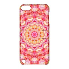 Yellow Pink Romance Apple Ipod Touch 5 Hardshell Case With Stand by Zandiepants