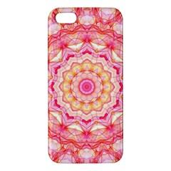 Yellow Pink Romance Iphone 5s Premium Hardshell Case by Zandiepants
