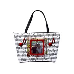 Music Shoulder Handbag #3 By Joy Johns   Classic Shoulder Handbag   12lxdcqw5f8y   Www Artscow Com Back