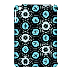Pale Blue Elegant Retro Apple Ipad Mini Hardshell Case (compatible With Smart Cover) by Colorfulart23