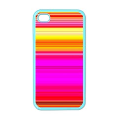 Colour Lines Apple Iphone 4 Case (color) by Contest1630871