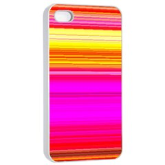 Colour Lines Apple Iphone 4/4s Seamless Case (white) by Contest1630871