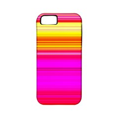 Colour Lines Apple Iphone 5 Classic Hardshell Case (pc+silicone) by Contest1630871