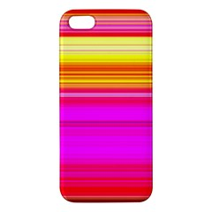Colour Lines Apple Iphone 5 Premium Hardshell Case