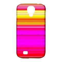 Colour Lines Samsung Galaxy S4 Classic Hardshell Case (pc+silicone) by Contest1630871