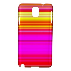 Colour Lines Samsung Galaxy Note 3 N9005 Hardshell Case