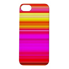 Colour Lines Apple Iphone 5s Hardshell Case by Contest1630871