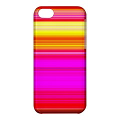 Colour Lines Apple Iphone 5c Hardshell Case by Contest1630871