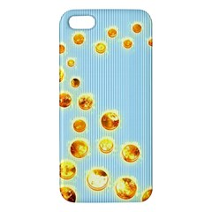 Fire Bubbles iPhone 5S Premium Hardshell Case by Contest1630871