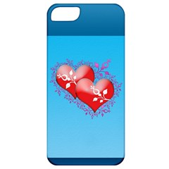 Hearts Apple Iphone 5 Classic Hardshell Case by Contest1630871
