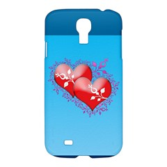 Hearts Samsung Galaxy S4 I9500/i9505 Hardshell Case by Contest1630871
