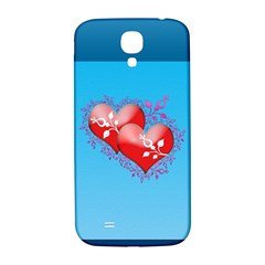Hearts Samsung Galaxy S4 I9500/i9505  Hardshell Back Case by Contest1630871
