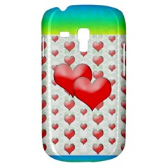 Hearts 2 Samsung Galaxy S3 Mini I8190 Hardshell Case by Contest1630871