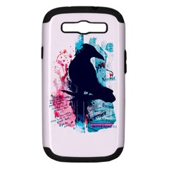 Qouth The Raven   Answer Your Phone  Samsung Galaxy S Iii Hardshell Case (pc+silicone) by TheTalkingDead