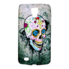 Sugar Skull Samsung Galaxy S4 Active (i9295) Hardshell Case by TheTalkingDead