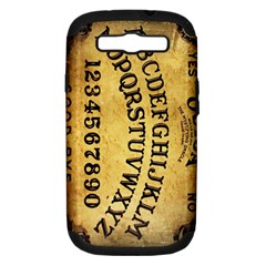 Call Me On My Ouija Board Samsung Galaxy S Iii Hardshell Case (pc+silicone) by TheTalkingDead