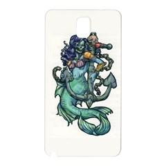 Zombie Mermaid Samsung Galaxy Note 3 N9005 Hardshell Back Case