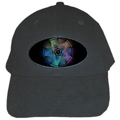 Pi Visualized Black Baseball Cap