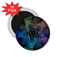 Pi Visualized 2 25  Button Magnet (10 Pack) by mousepads123