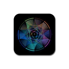 Pi Visualized Drink Coasters 4 Pack (square) by mousepads123