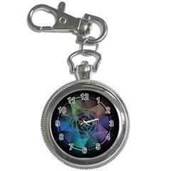 Pi Visualized Key Chain Watch