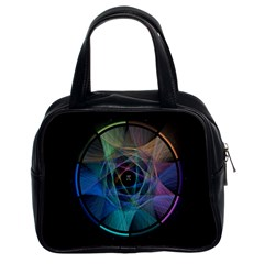 Pi Visualized Classic Handbag (two Sides) by mousepads123