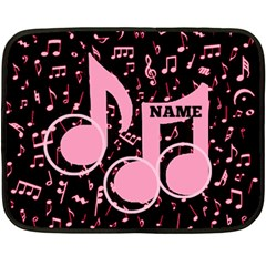 Music Mini Blanket, 2sides By Joy Johns   Double Sided Fleece Blanket (mini)   Uwo6uce816ne   Www Artscow Com 35 x27 Blanket Front