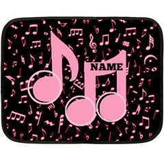 Music Mini Blanket, 2sides By Joy Johns   Double Sided Fleece Blanket (mini)   Uwo6uce816ne   Www Artscow Com 35 x27 Blanket Back