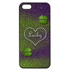 Lucky Girl Apple Iphone 5 Seamless Case (black)