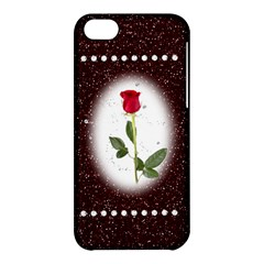 Pretty As A Rose Apple Iphone 5c Hardshell Case