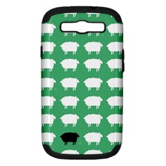 Herd Mentality  Samsung Galaxy S Iii Hardshell Case (pc+silicone) by Contest1888309