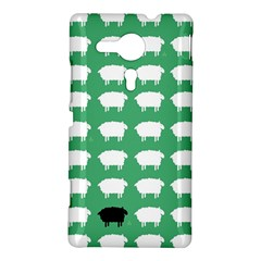 Herd Mentality  Sony Xperia SP M35H Hardshell Case by Contest1888309
