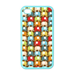 Elefunts! Apple iPhone 4 Case (Color) by Contest1888309