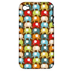Elefunts! Apple Iphone 4/4s Hardshell Case (pc+silicone) by Contest1888309
