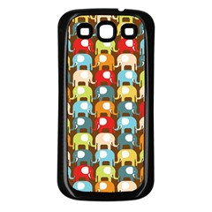 Elefunts! Samsung Galaxy S3 Back Case (Black) by Contest1888309
