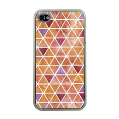 Geometrics Apple Iphone 4 Case (clear) by Contest1888309
