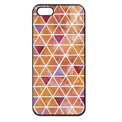 Geometrics Apple Iphone 5 Seamless Case (black) by Contest1888309