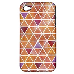 Geometrics Apple Iphone 4/4s Hardshell Case (pc+silicone) by Contest1888309