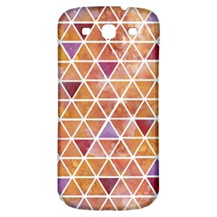 Geometrics Samsung Galaxy S3 S Iii Classic Hardshell Back Case by Contest1888309