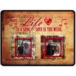 music large blanket #3 - Fleece Blanket (Large)