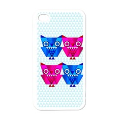Owligami Apple Iphone 4 Case (white) by doodlelabel