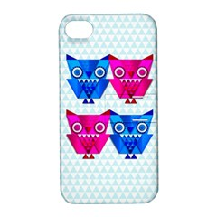 Owligami Apple Iphone 4/4s Hardshell Case With Stand by doodlelabel