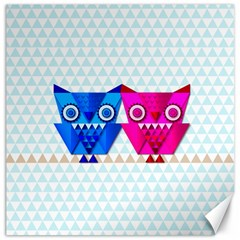 Owligami Canvas 20  X 20  by doodlelabel