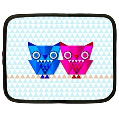 Owligami Netbook Case (xl) by doodlelabel