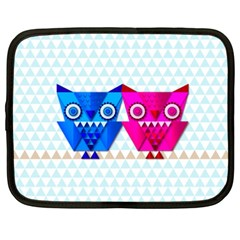 Owligami Netbook Case (xxl) by doodlelabel