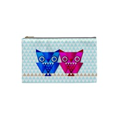 OWLigami Cosmetic Bag (Small) by doodlelabel