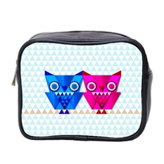 Owligami Mini Toiletries Bag (two Sides) by doodlelabel