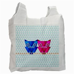 OWLigami Recycle Bag (Two Side) by doodlelabel