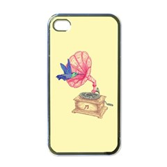 Bird Love Music Apple Iphone 4 Case (black) by Contest1736674